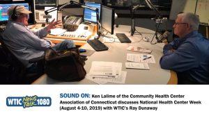 Ken Lalime on WTIC 1080